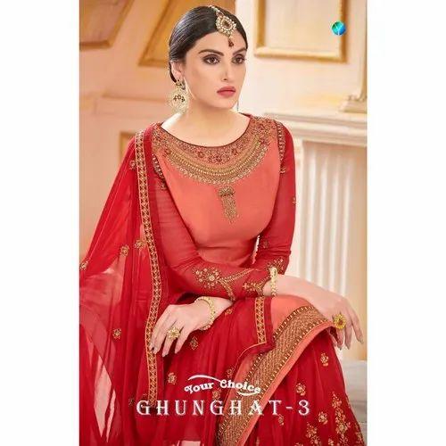 ceaef33919 Georgette Sarara Pakistani Suits, Rs 2295 /piece, Maajisa Group | ID ...