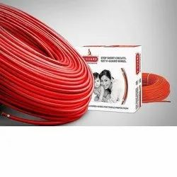 Red PVC V Guard Flexible Cable, Size: 0.5 - 1.5 Square Mm, for Electrical