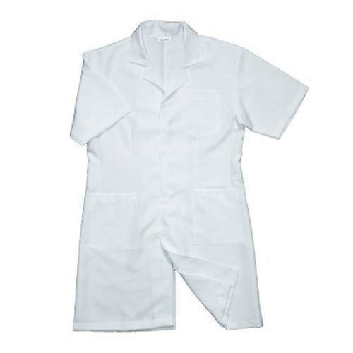 Half Sleeves Pure Cotton Doctor Medical Apron, Packaging Type: Packet
