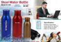 Steel Water Bottle H-145