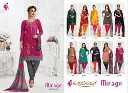 Khushika Semi Stitched Suits