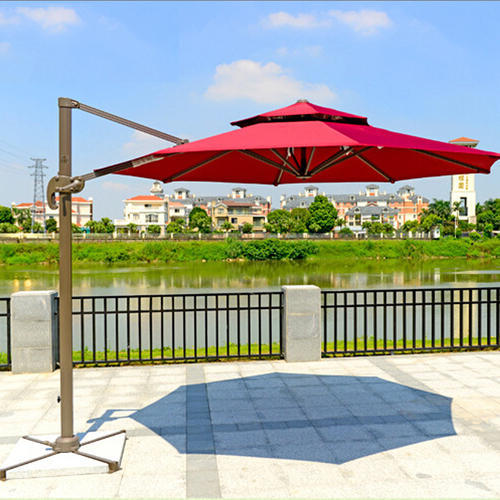 Red Umbrella Gazebo