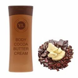 Unisex White Body Cocoa Butter Cream, Ingredients: Herbal, Time Used: Day