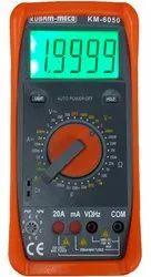 KM-6050 Digital Multimeter With Terminal Blocking Protection