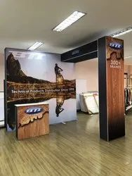 Exhibition Booth Size : Exhibition booth at best price in india