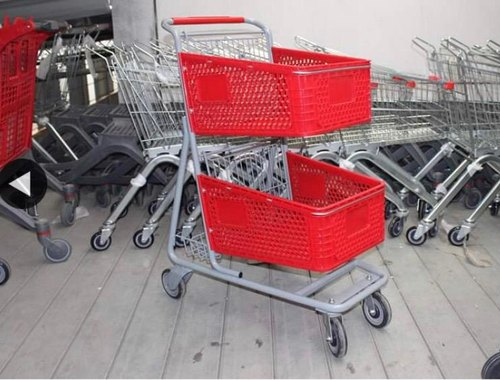 Double Basket Trolley
