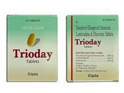 Tenofovir Lamivudine & Efavirenz Tablets