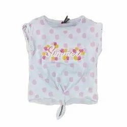 Cotton Kids Girls Printed Fancy Tops