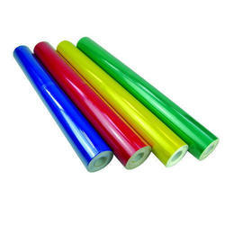 PVC Colored Notebook Cover Roll
