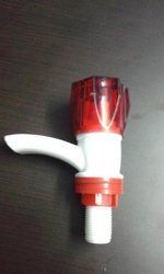 PVC Bib Cock for Bathroom Fitting, Size: 15 mm