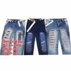 Blue Denim Girl Jeans