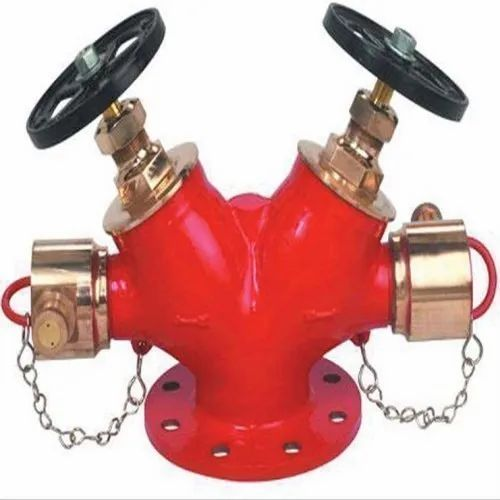 New Age Gunmetal Double Head Fire Hydrant Valve, Size: 63 Mm Dia
