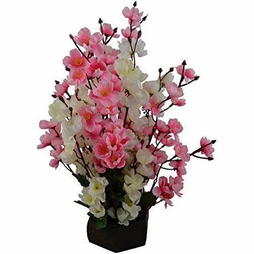 hyper boles multi color artificial flower blossoms bunch, rs 100