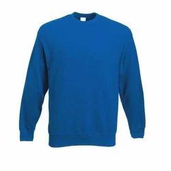 Blue 100% cotton School Sweatshirts