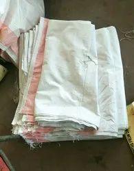 White Plastic Carry Bag