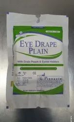 Eye Drape with Drain Pouch Code No P0001