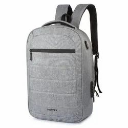 Polyester Laptop Backpack, Capacity: 20 Litre