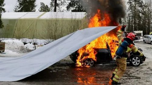 Siganture Car Fire Blanket