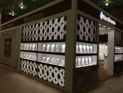Decoration Exhibition Booth Designing Service