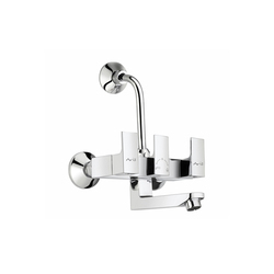Wall Mounted Mixer Telephonic With Wall Bend
