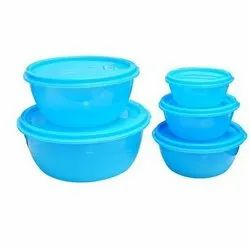 Oscar Round Plastic Containers