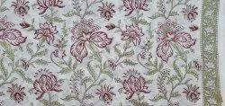 Vinayakam Exports Jaipuri Hand Block Printed Cotton Suit Material