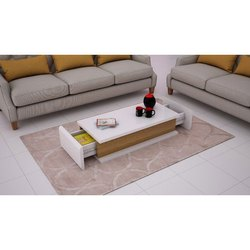 Rectangular Modern Fancy Wooden Center Table