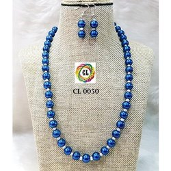 CL Code Shell Pearl Single Line Imitation Fashion Necklace & earrings manufacturer direct