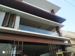 Balcony Glass Work