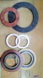 Caf Red cut Gaskets, For Industrial, Thickness: 3mm To 5mm