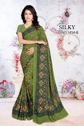 Ladies Printed Pure Cotton Saree