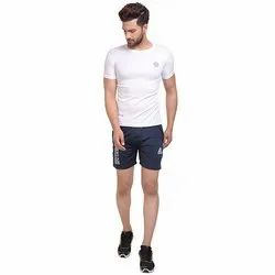 Run Navy Mens Short