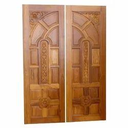 Brown Teak Wood Main Door Rs 400 Feet Ms Bajrang Timber Trading