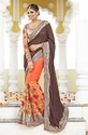 Net Bollywood Plain Sarees
