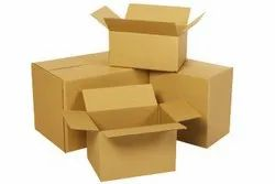 Cardboard Single Wall - 3 Ply Carton Boxes, Box Capacity: 6-10 Kg