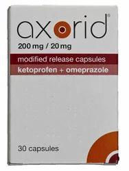 Axorid Ketoprofen Omeprazole Capsules