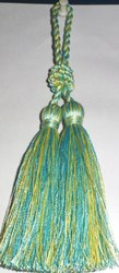 Green And Yellow Polyester Tassel