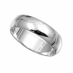 Sterling Silver Plain Rings