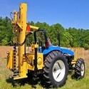 Hydraulic Auger Tractor Mounted Drilling Machine