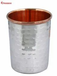 Steel Copper Glass (Hammered)