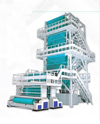 Multilayer Blown Film Plant With Haulf Off Take Up