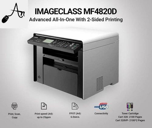 CANON IMAGECLASS MF4820D PRINTER WINDOWS 7 64BIT DRIVER