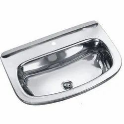 CRIPS Glossy Stainless Steel Wash Basin Sink, For Bathroom, Model Name/Number: Sswb 018