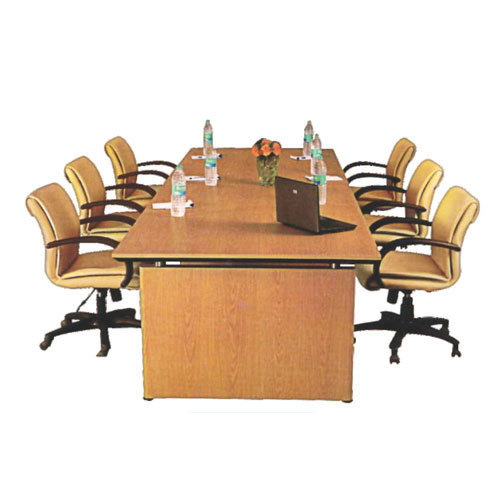 Wooden Rectangular Conference Room Table Set Rs Set ID - Conference room table set