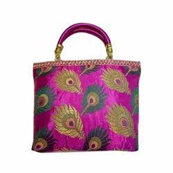Printed Ladies Handicraft Handbag