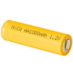1000 mAh Rechargeable Ni Cd Battery, Voltage: 1.2 V