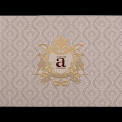 Damask Trend Wedding Cards, Size: 9.5