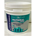 National Gold Exterior Acrylic Wall Emulsion Paint, Packaging: 10 Liter