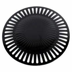 Black Non Stick Coated Tandoor Grill 32 cm, Material: Copper for Kitchen