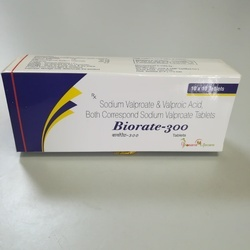 Sodium Valproate IP 200mg Valproic Acid IP Tablets